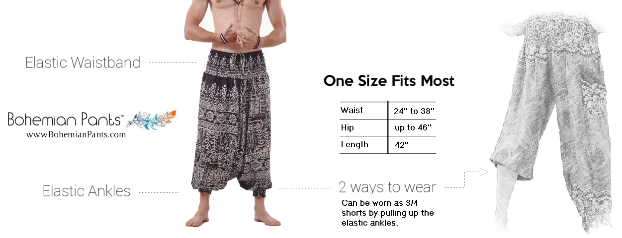 Bohemian-Pants-Size-Guide-Men