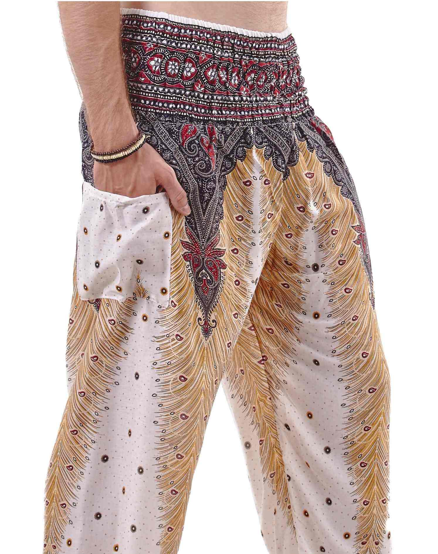 Harem Pants. Check out that new got-to-have-it trend —a pair of harem pants! Look for the trademark elastic ankles and dropped waist for unmistakably cool style that goes anywhere (really!).