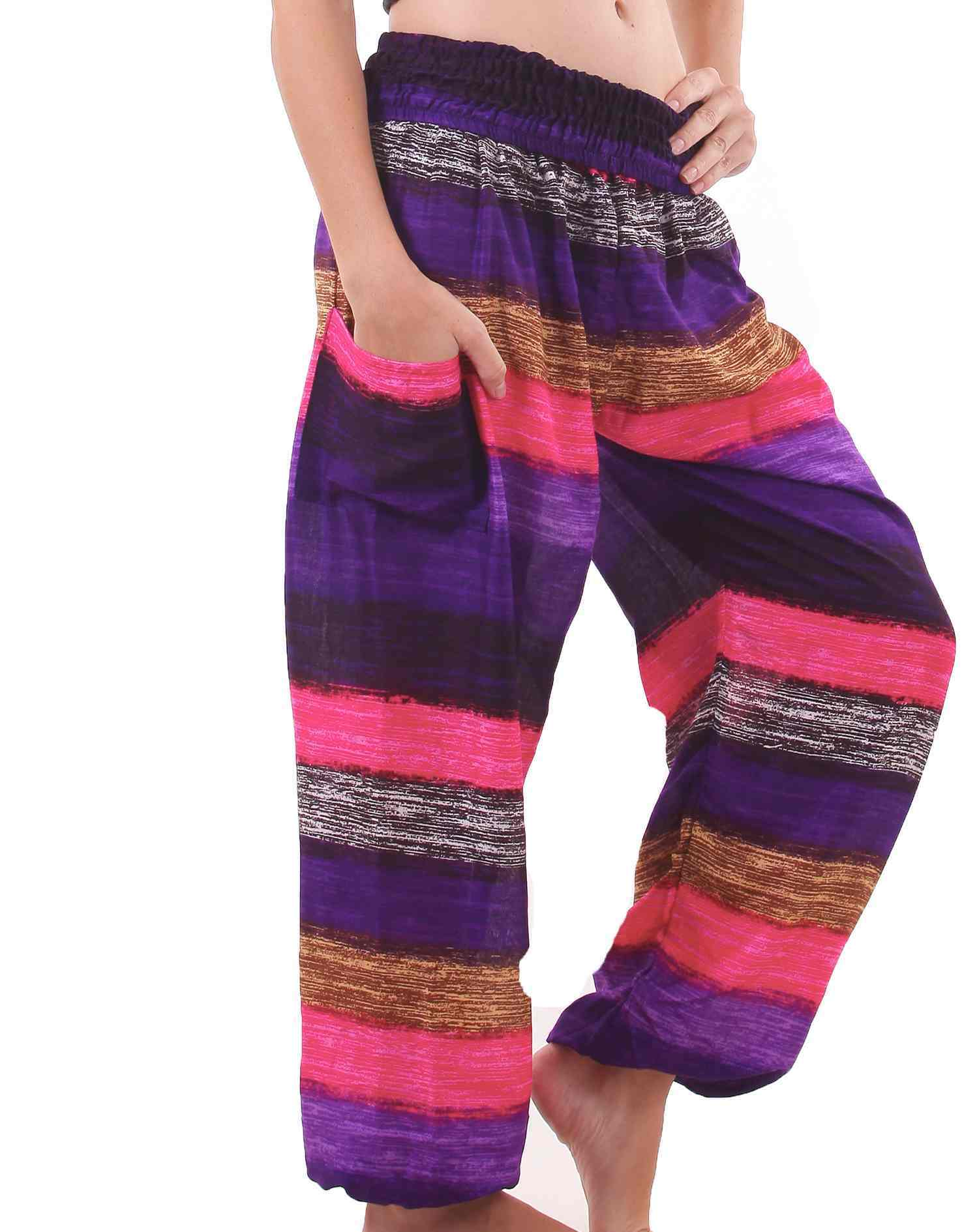 Elements Thai Pants in Spring Colors for Women