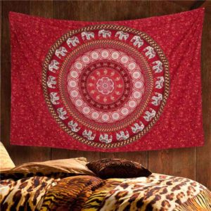 bedroom tapestry elephants