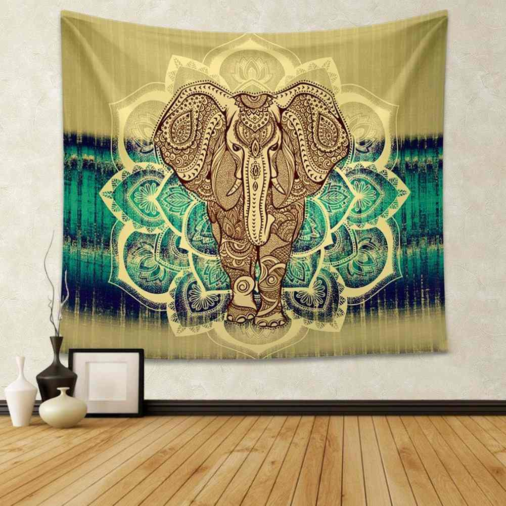 Tapestry Wall Hanging tapestry wall hanging with elephant print - bohemian pants