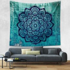 bohemian tapestry in turquoise